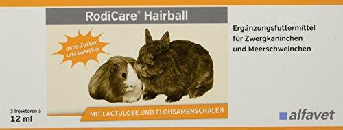 RodiCare Hairball unterstützt die Ausscheidung von im Magen-Darmtrakt befindlichen Haaren und Haarballen