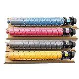 XIGU compatibile per Ricoh MPC2504SP cartuccia toner di ricambio per stampante Ricoh MP C2004exSP C2004SP 2504C 2504SP, ad alta capacità per la scuola, senza perdite, resistente allo sbiadimento.