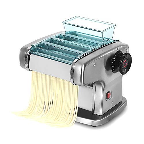 Máquina de Hacer Pasta Fresca,máquina para hacer pasta eléctrica automática,máquina para hacer albóndigas fideos multifunción Wonton,Máquina para hacer pasta para ravioles,grosor 1-4mm,135 W