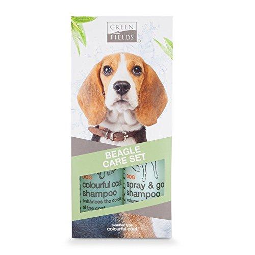 Greenfields Beagle - Set de Cuidado (250 ml, 2 Unidades)