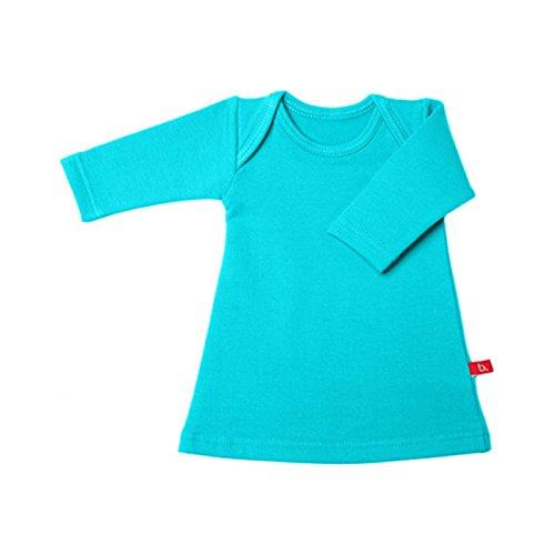 Vestido afelpado Limo Basics. Color Aqua (turquesa). Talla 50-56