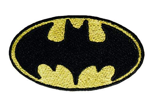 Batman Logo geborduurd ijzer naaien op patch Fancy jurk kostuum T Shirt Bag Badge