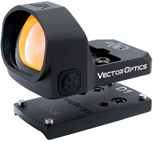 VECTOR OPTICS – Kit de Mira de Punto Rojo para Pistolas Glock, 1x20x28 Red Dot Frenzy