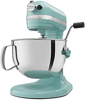 KitchenAid Professional 600 Series KP26M1XER Bowl-Lift Stand Mixer, 6 Quart, Aqua Sky