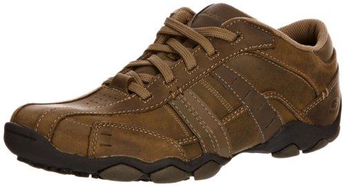 Skechers Diamete Vassell, Men's Low-Top Sneakers, Brown, 7.5 UK UK (41.5 EU EU)