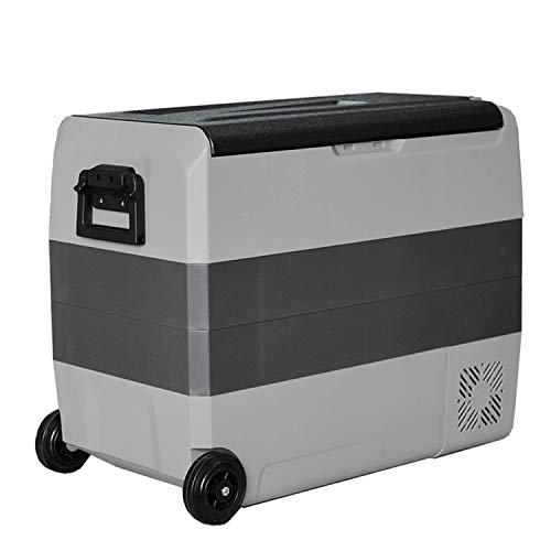 KLFD Refrigerador para Auto Congelador Doméstico de 50L, Control De Bluetooth, Freezer con Compresor de 12 / 24V, Enfriamiento Rápido de 20 ° a -20 °, para Automóviles, Dormitorios, Viajes