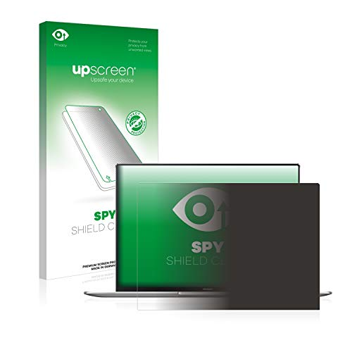 upscreen Anti-Spy Blickschutzfolie kompatibel mit Huawei MateBook X Pro 2019 Privacy Screen Sichtschutz Bildschirmschutz-Folie