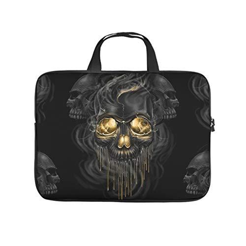 Lightweight Skull Laptop Tote Bag Briefcases - for Men Women Boys Girls white5 15 Zoll