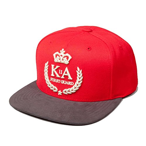 King Apparel Aw13 Red first guard snapback ONE SIZE