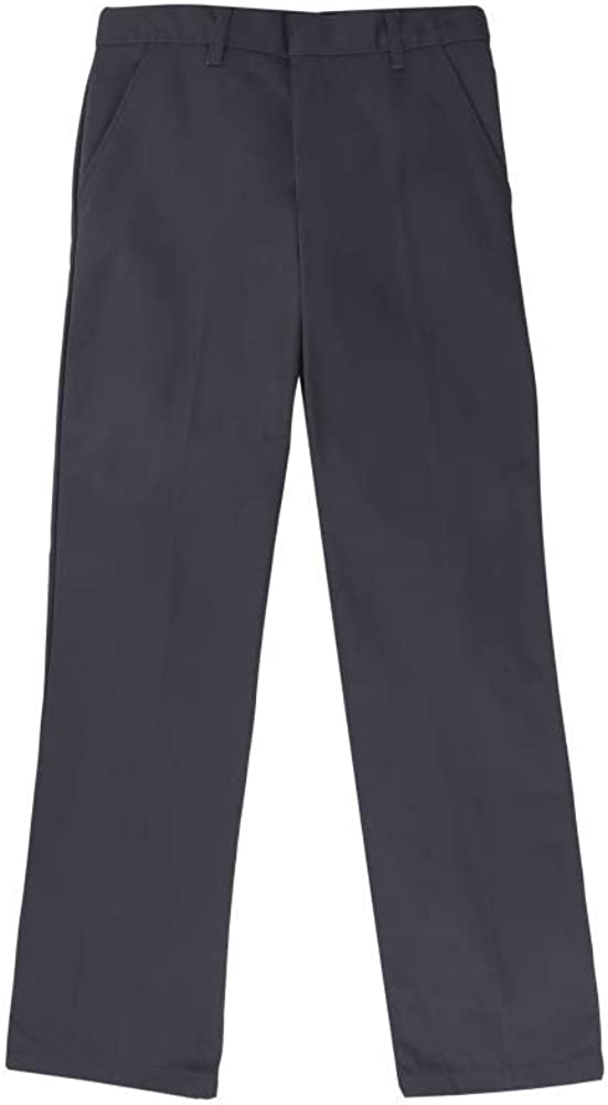 French Toast Boys Straight Fit Pant w/Adjustable Waist(16 Blue Gray)
