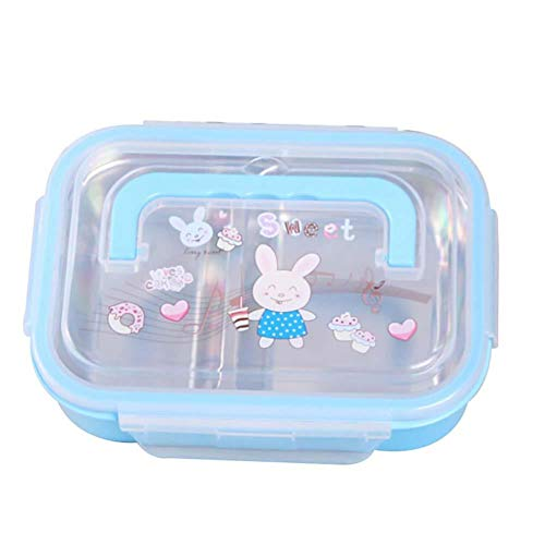 Daliuing Food Storage Containers Double-layer lunch box Meal Prep Containers Suitable as Kids Lunch Box and to Go Containers