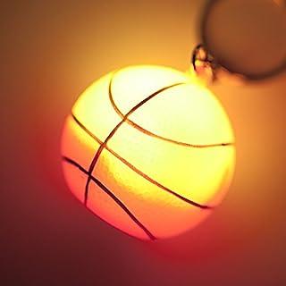 バスケ グラシアス イルミネーションボールキーホルダー バスケットボールタイプ 1個