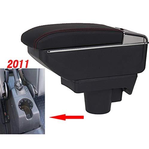 TWOBEE Doppel Lagerung Teleskop Armlehne Box for Opel Astra H Mittelarmlehne Aufbewahrungsbehälter Becherhalter Aschenbecher Conversion Zubehör