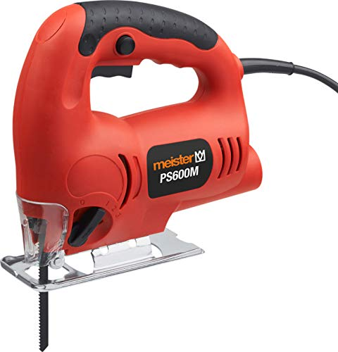 Meister PS600M Scie sauteuse pendulaire 600 W 230 V Rouge
