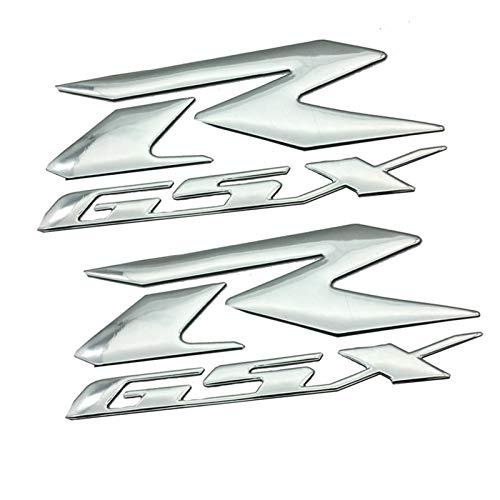 Interesante Etiqueta de Logotipo de la Motocicleta Etiqueta de Motocicleta Cuerpo Reflectante Cáscara Etiqueta Etiqueta de Etiqueta Etiqueta de calcomanías para R Logo GSXR 600 750 1000 1300 K1 K2 K3