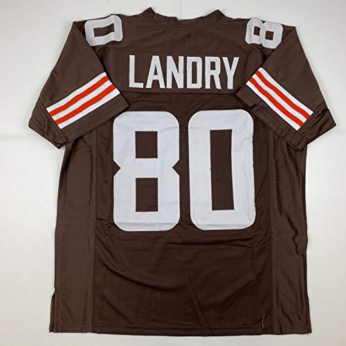 Unsigned Jarvis Landry Cleveland 2020 Brown Custom Stitched Football Jersey Size Men's XL New No Brands/Logos