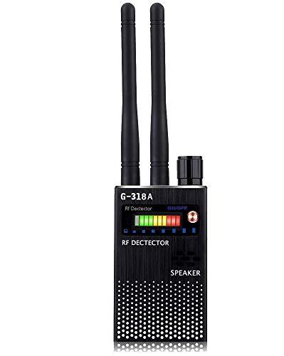 Detector RF, Detector de cámara Oculta de Doble Antenas, Escáner de cámara Micro WiFi Oculta, Dispositivo de Escucha de teléfono Celular de Alta sensibilidad, Detectar rastreador GPS gsm