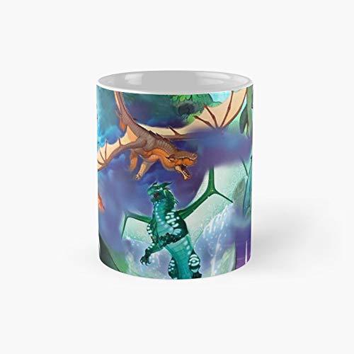 Wing of Fire Tasse mit Drachen-Motiv,...