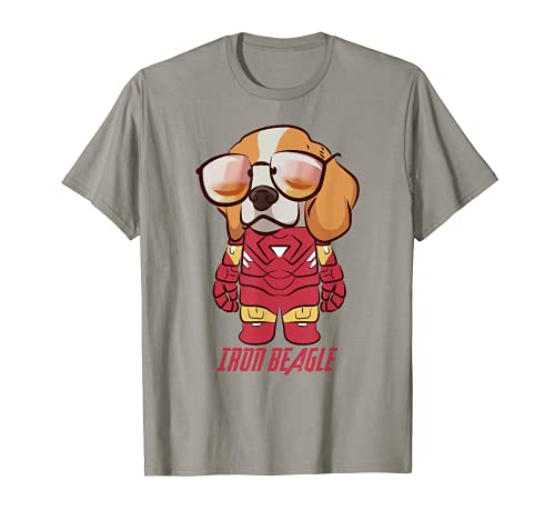 Colorful Iron Beagle Cute Puppy Beagle Dog Lovers Owners T-Shirt