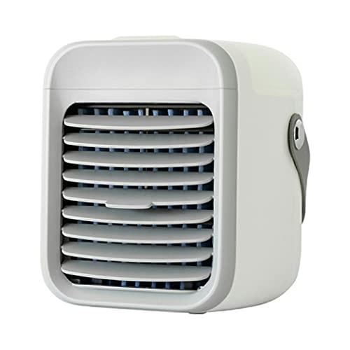 GWN Ventilatore evaporativo Ricaricabile del condizionatore d'Aria del condizionatore d'Aria con 3 velocità Bianche