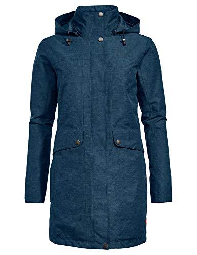 VAUDE Damen Limford Coat, Mantel Jacke, baltic sea, 46 (2XL)