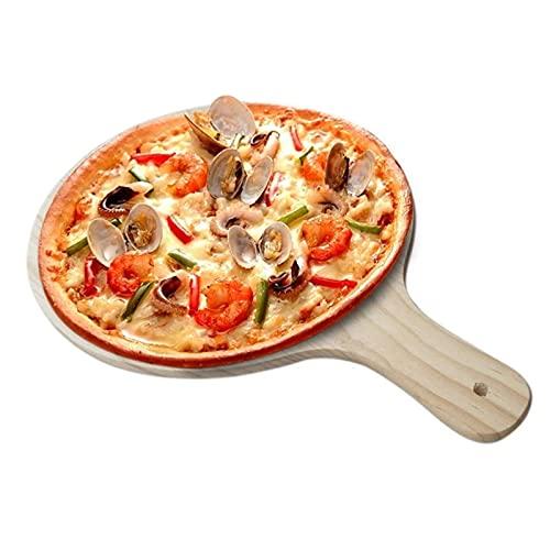 Pizza Shovel Piastra Rotonda Pizza Pizza Pad Pad con Manico Pizza Peel teglia Piatto Vassoio Piano Piano Piano Strumento da Cucina Facile da conservare la Pala per Pizza