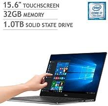 Dell XPS 15 9560 4K UHD TOUCHSCREEN i7-7700HQ 32GB RAM 1TB SSD Nvidia GTX 1050 4GB GDDR5 FINGERPRINT Windows 10 Home (Renewed)
