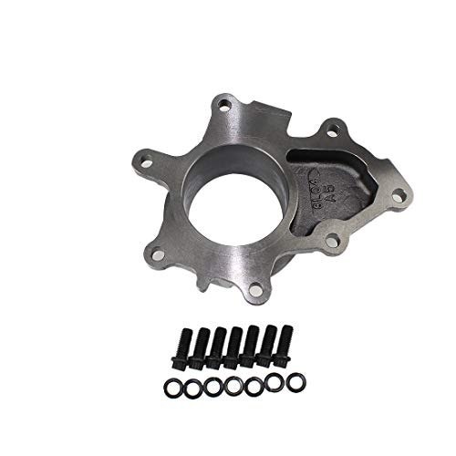 99.5-03 Powerstroke 7.3LGTP38 Turbo ChargerTurbine housing exhaust EBPV Deleted cover plate, None EBPV