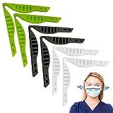 yidaxing clip anti-appannamento per ponte nasale, 6 pezzi supporto per il naso anti-appannamento naso per ponte nasale clip di supporto per evitare lappannamento degli occhiali da vista