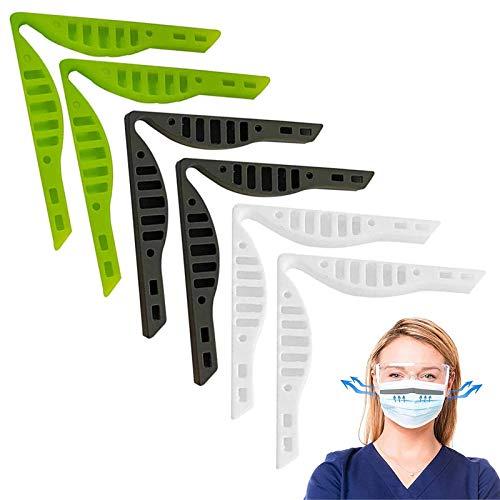 Yidaxing Nasenbrückenpads, Anti-Fog-Nasenclip-Zubehör für die Maske - Verhindern Sie das Beschlagen von Brillen, Dauerhafter Nasenclip Anti-Fog-Nasenbrücke Waschbares Kunststoff-Silikonband