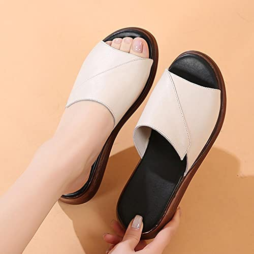 Zapatillas De Casa Para Mujer Verano,Zapatillas De Novia,Sandalias De Fondo Plano, Sandalias...