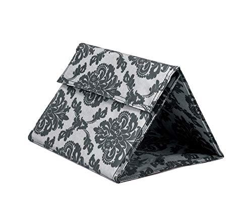 コモライフ たためる三角足置き フットレスト 折りたたみ フットレスト 旅行 飛行機 バス コンパクト 折りたたみ