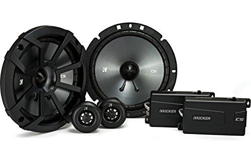 Kicker 43CSS674 CSS67 - Sistema de componentes de 17,1 cm con altavoces...