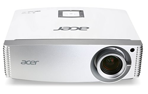 Acer H9505BD High End Full HD 3D DLP-Projektor (Kontrast 10.000:1, 3.000 ANSI Lumen, 3x HDMI 1.4a mit HDCP Unterstützung, 3D 144Hz Triple Flash, Lens Shift ) weiß
