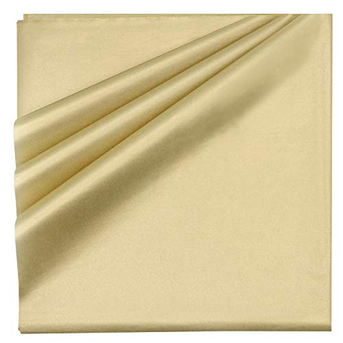 "120 Piece Christmas Metallic Gold Tissue Paper Assortment (20"" x 20"" inches) Holiday Gold Gift Wrapping for Party Favors Goody Bags, Xmas Presents Wrapping Stocking Stuffers"