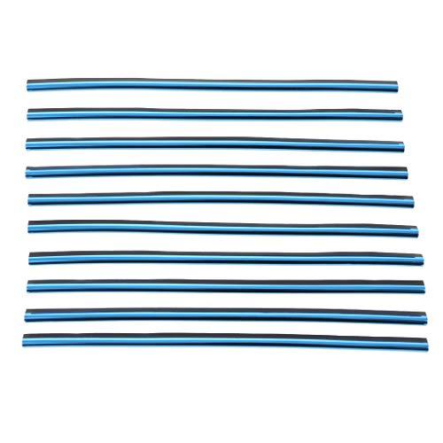 B Blesiya Bande Décor Grille D'Aération Garniture Universel pour Voiture - Bleu