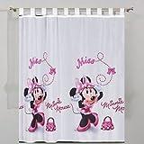 Disney Tenda di Minni (Minnie Mouse) per la cameretta delle bambine, dimensioni: 75 x 157 cm (lunghezza x altezza)