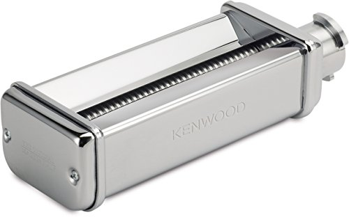 Kenwood KAX982ME Fettuccine Pasta Cutting Attachment (Food Processor Accessories, Suitable for all Chef and kMix Food Machines, Stainless Steel)