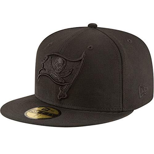 New Era 59Fifty Cap - NFL Black Tampa Bay Buccaneers - 7 3/8