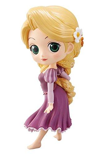 BANPRESTO Figur Sammlung Rapunzel Tangled 14cm Normal Color Version - Serie QPOSKET Disney Characters
