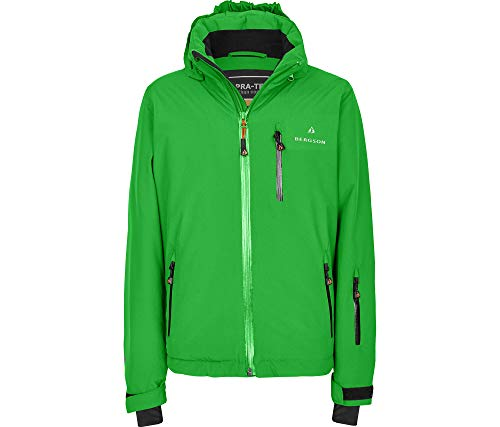 Bergson Kinder Skijacke Lupo, Classic Green [210], 164 - Kinder