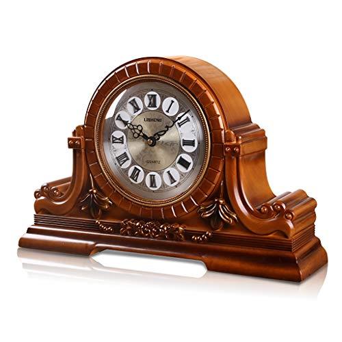 Clock SESO UK- Retro Quarz Uhr Technischer Kunststofff Wohnzimmer Schreibtisch Regal Uhren, Kaminuhr