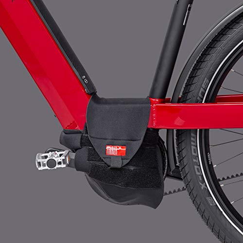 FAHRER Antriebsschutz E-Bike Universal, Schwarz, Einheitsgröße