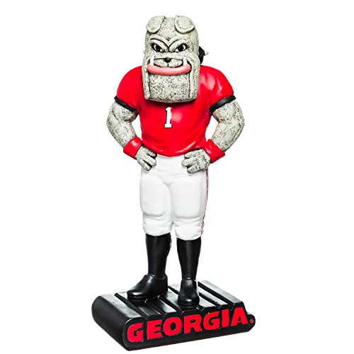Team Sports America NCAA University of Georgia Fun Colorful Mascot Statue 12 Inches Tall