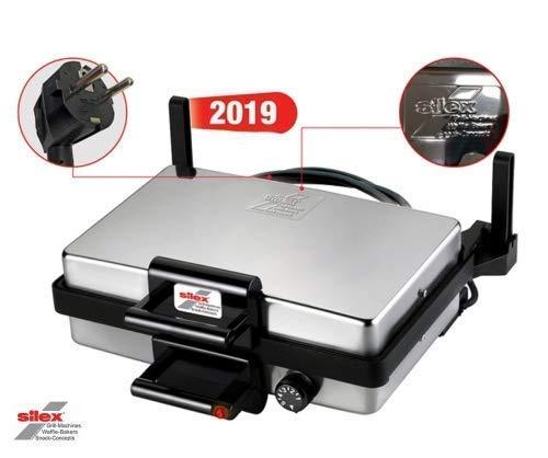 Silex Multigrill (zonder bakplaat) | Tester | elektrische grill machine | tafelgrill | zilver | roze zilver | z1008