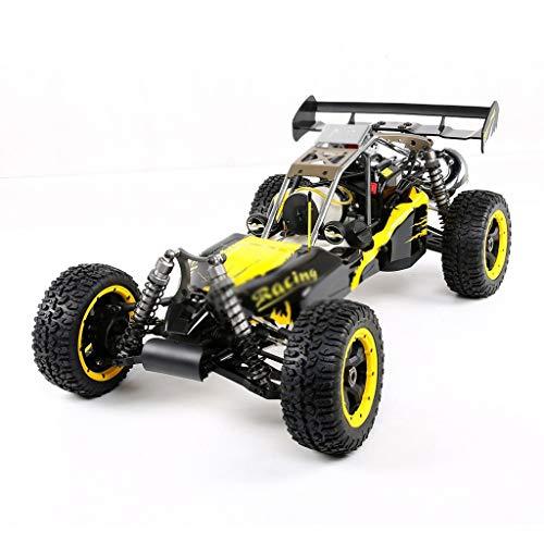 HIUHIU Eje Drive 4WD 1/5 Gasolina Coche teledirigido Modelo Off-Road RC,Amarillo