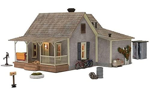 Woodland Scenics O Scale Built-Up Building/Structure Old Homestead