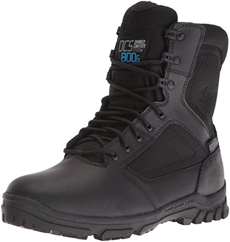 Danner Men's Lookout 8' 800G Military & Tactical Boot, Black, 8 D US
