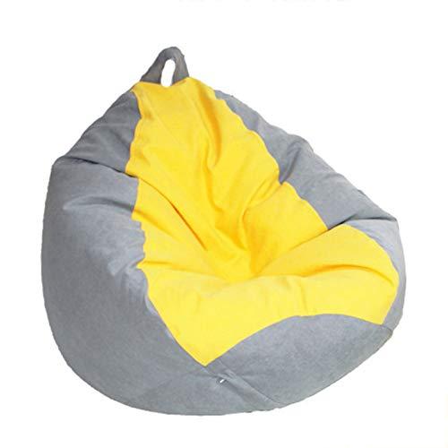Wsaman Gamer - Sofá reclinable portátil transformable para ocio, sofá perezoso, extraíble con bolsillos laterales, funda antisuciedad, para sala de estar, cama, oficina, XXL