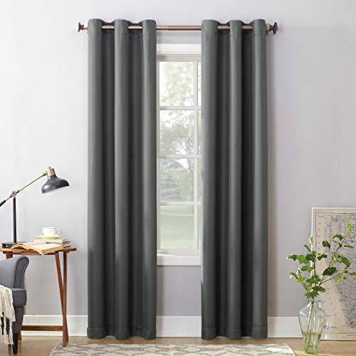 cortinas grises oscuras